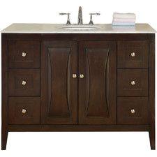 "Beth 48"" Single Bathroom Vanity"