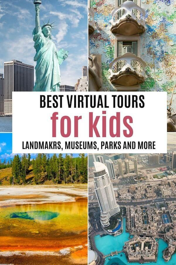 Awesome field trips and virtual tours for kids they can enjoy from home