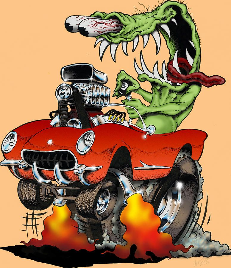 Fink Garage: Rat Fink, Rats, Garage Art