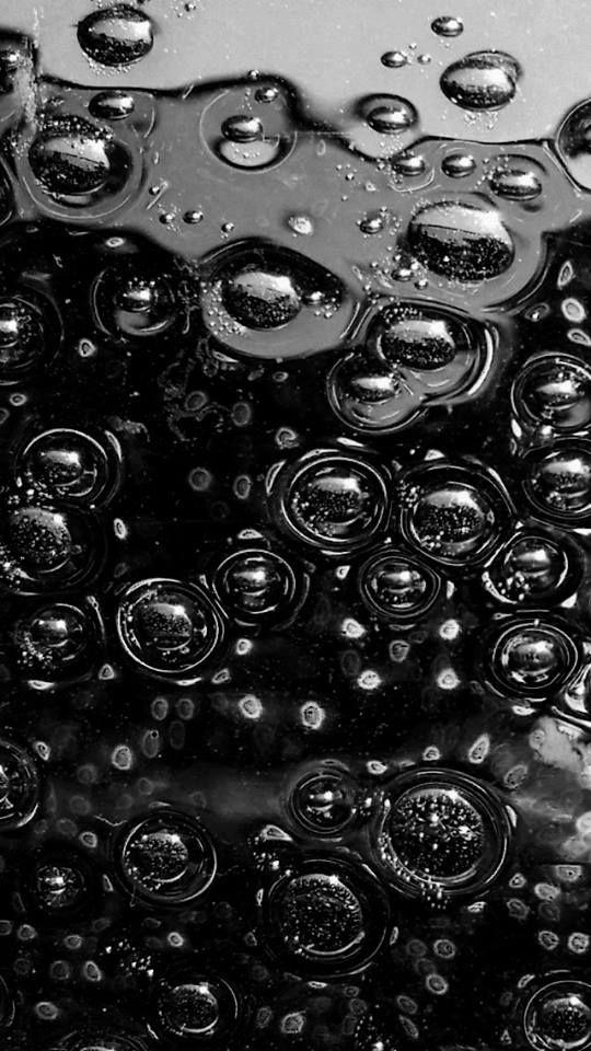 Bulles D Air Fond Ecran Noir Noir Et Blanc Ecran Noir