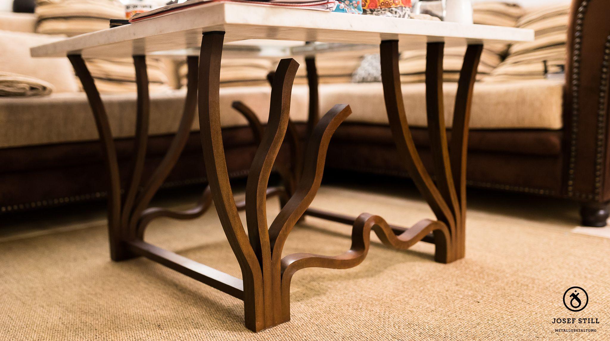 Www Metall Schmiede De Kunstschmiede Mobel Tisch Regal