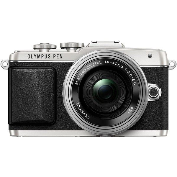 Olympus PEN E-PL7 Compact System Camera with 14-42mm EZ Lens, HD... (3.010 RUB) ❤ liked on Polyvore featuring fillers