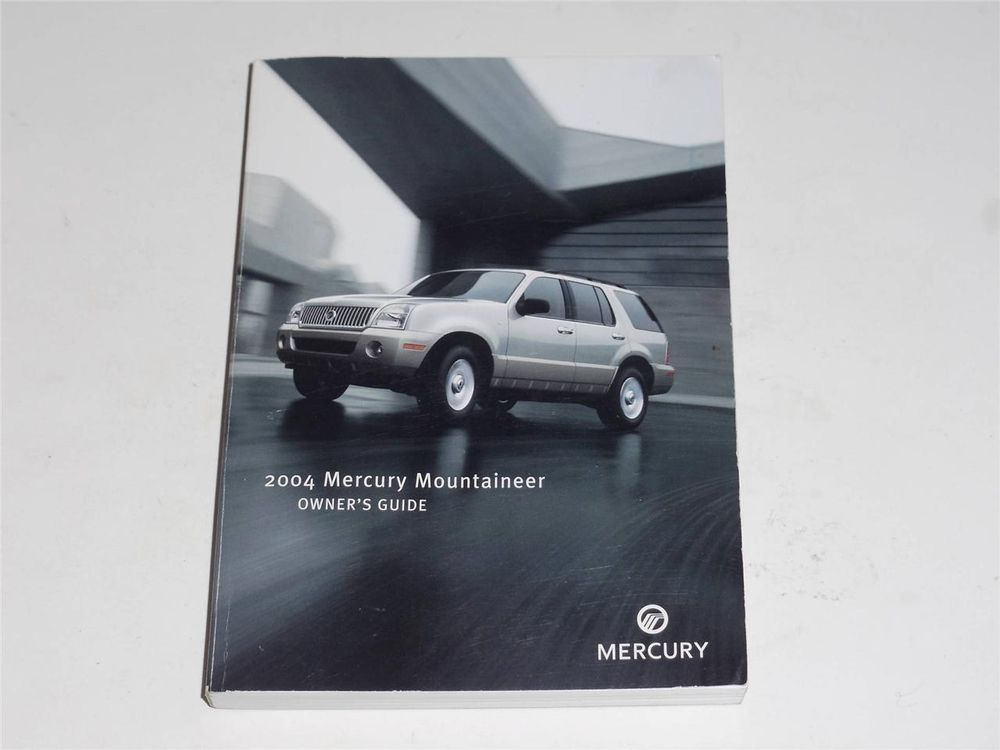 2004 mercury mountaineer owners manual book owners manuals rh pinterest com 2004 Mercury Mountaineer Fuel Pump Manual 2004 Mercury Mountaineer Black