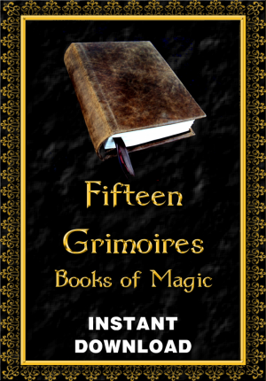 Fifteen Grimoires - Books of Magick - Instant Download  This
