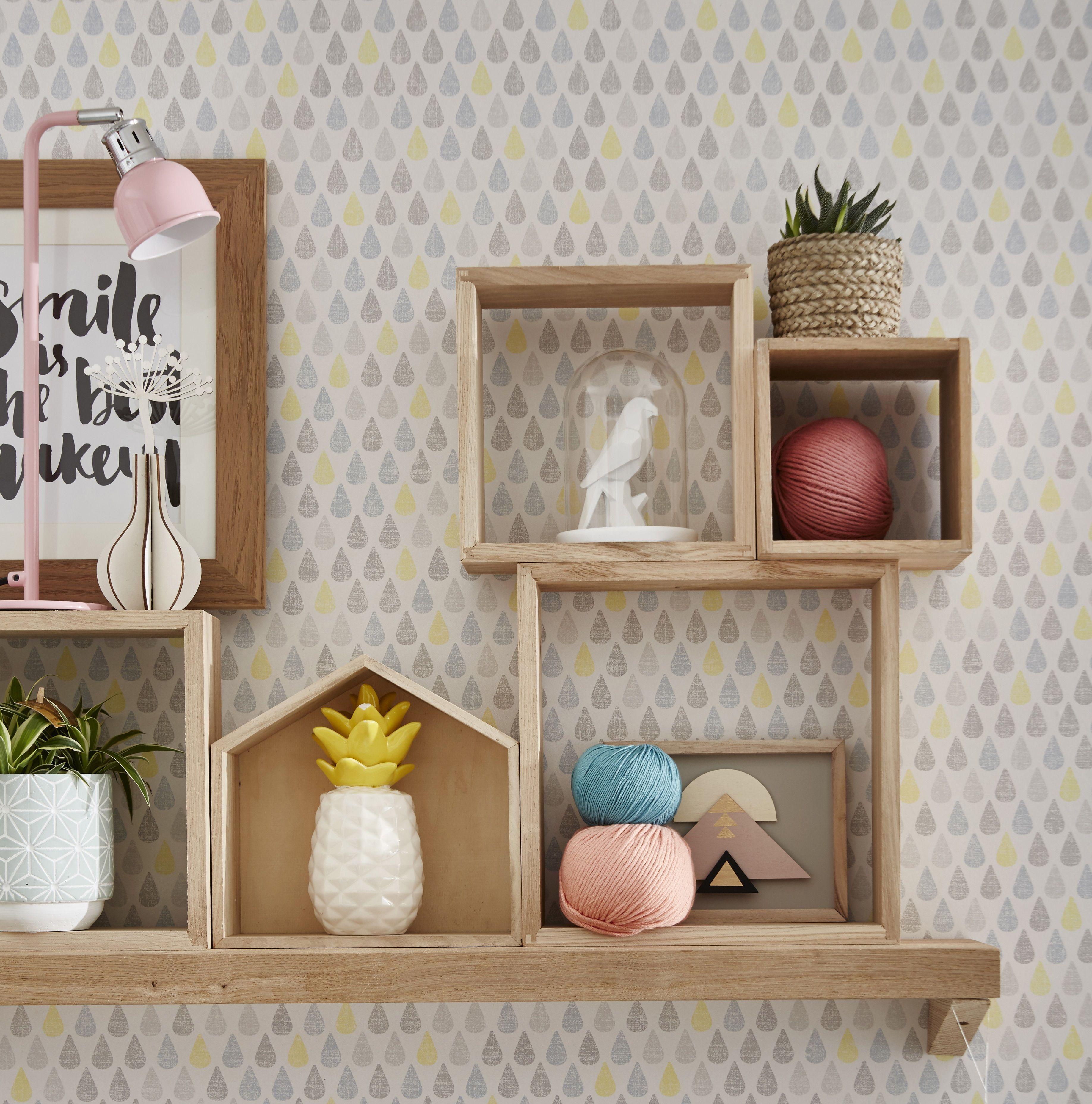 Dco Simple Et Efficace Avec Des Tagres Cubes En Bois
