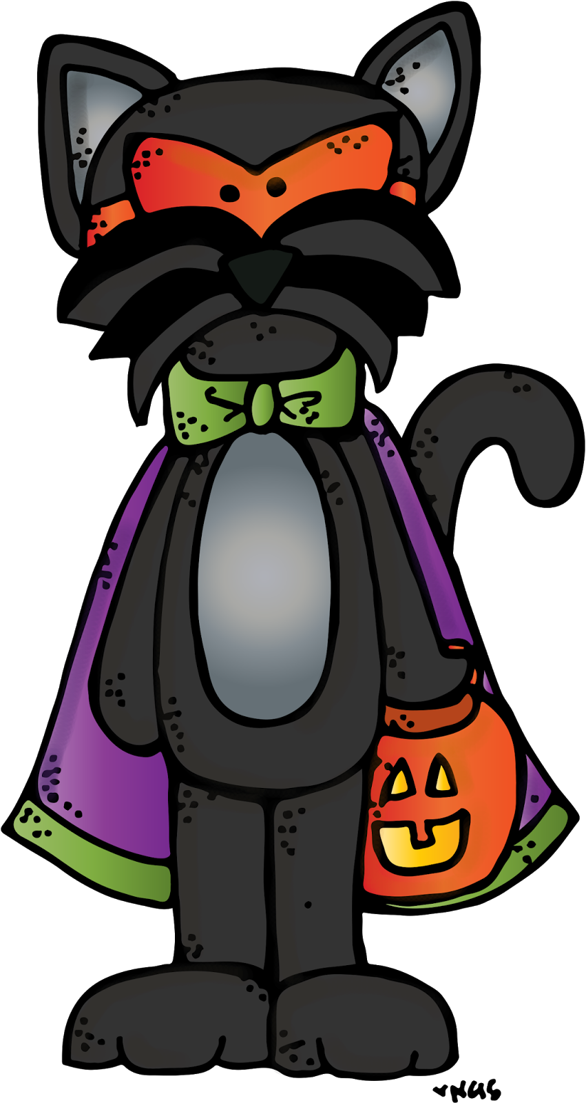 TpT Clipart Tribe Presents FrankenDoodleStein Halloween