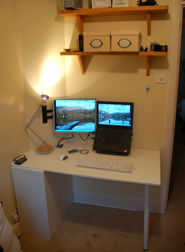IKEA Hackers: Cupboard Door Folding Desk