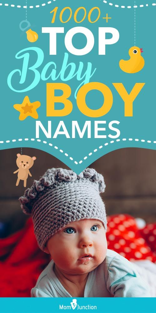 1000+ Top Baby Boy Names In The U.S. | Popular Boy Names For 2020
