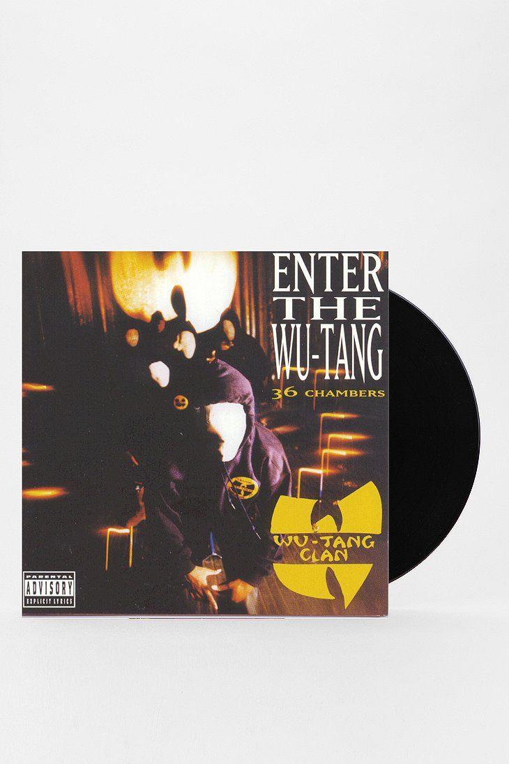 Wu Tang Clan Enter The Wu Tang 36 Chambers Lp Hip Hop Albums Wu Tang Best Hip Hop