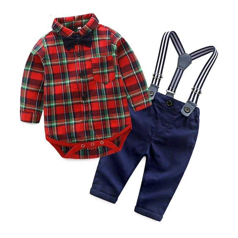 3aeab40dd9281 Little Gentleman | Southern Charm | Baby Boy Romper Outfits | Baby ...