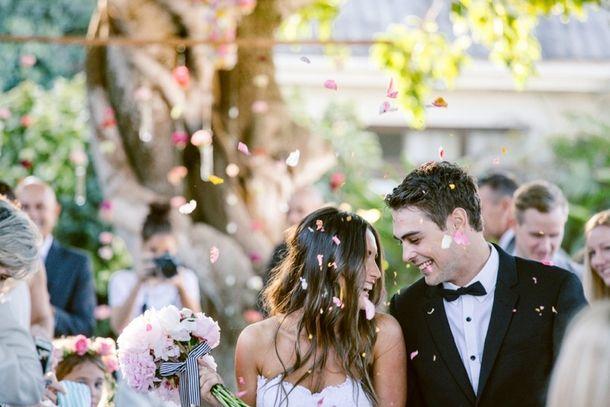 Joyous Garden Wedding At Jex Estate By Lad U0026 Lass