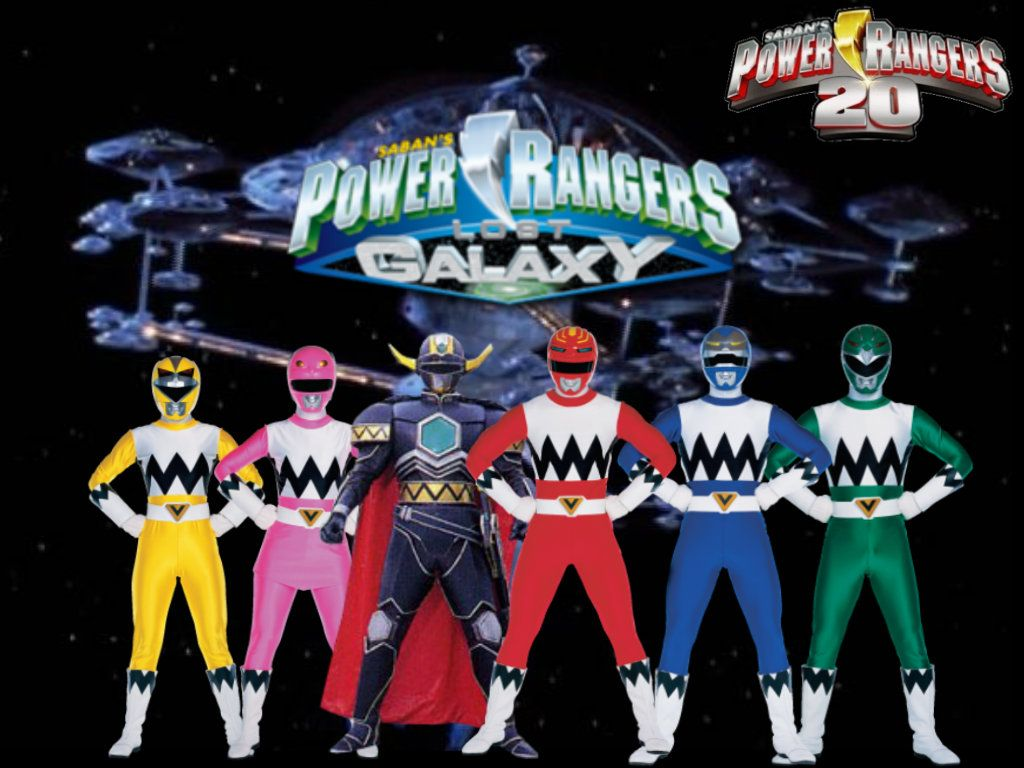 Power Rangers Lost Galaxy ad | Power Rangers Teams | Pinterest ...