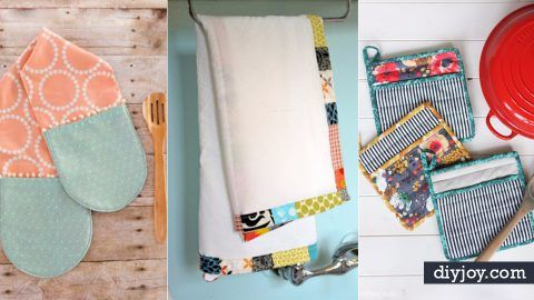 32 Great Things To Sew For Your Kitchen Diy Joy Projects And Crafts Ideas