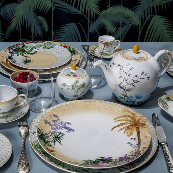 Shop For The Tropiques Dinnerware By Bernardaud Online At Artedona Enjoy Our Personal Service Luxury Brands Worldwide Deliver Bernardaud Dinnerware Crockery