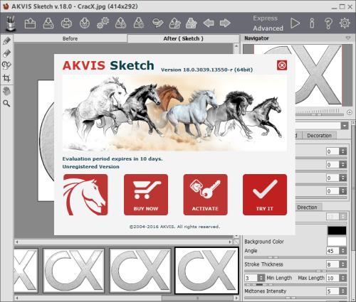 akvis sketch com serial