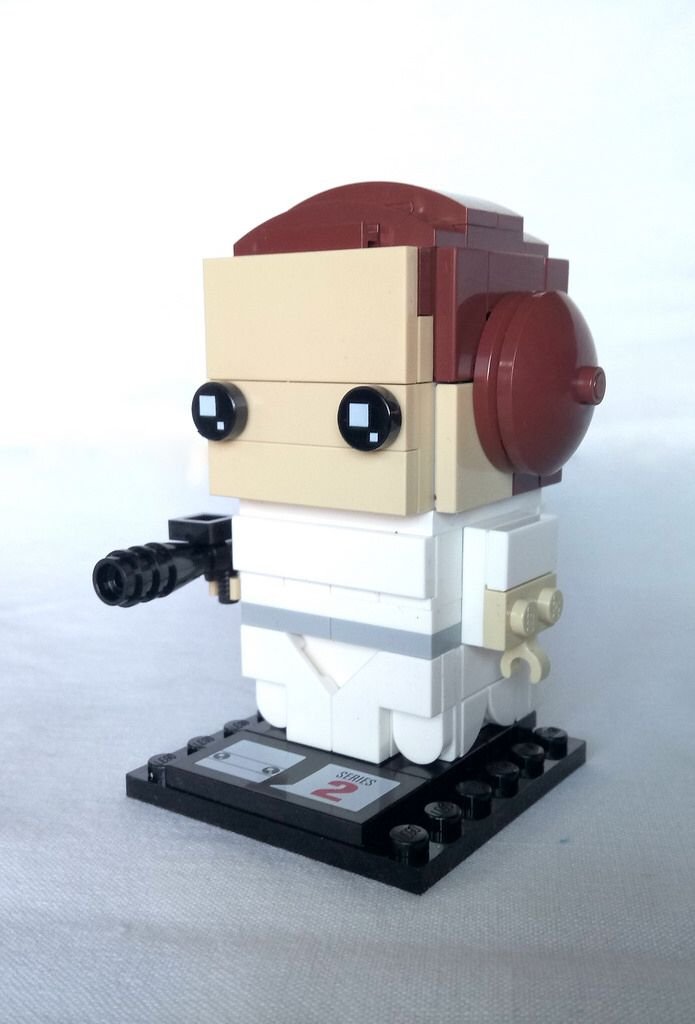 Princess Leia Instructions Available Lego Ideas Pinterest