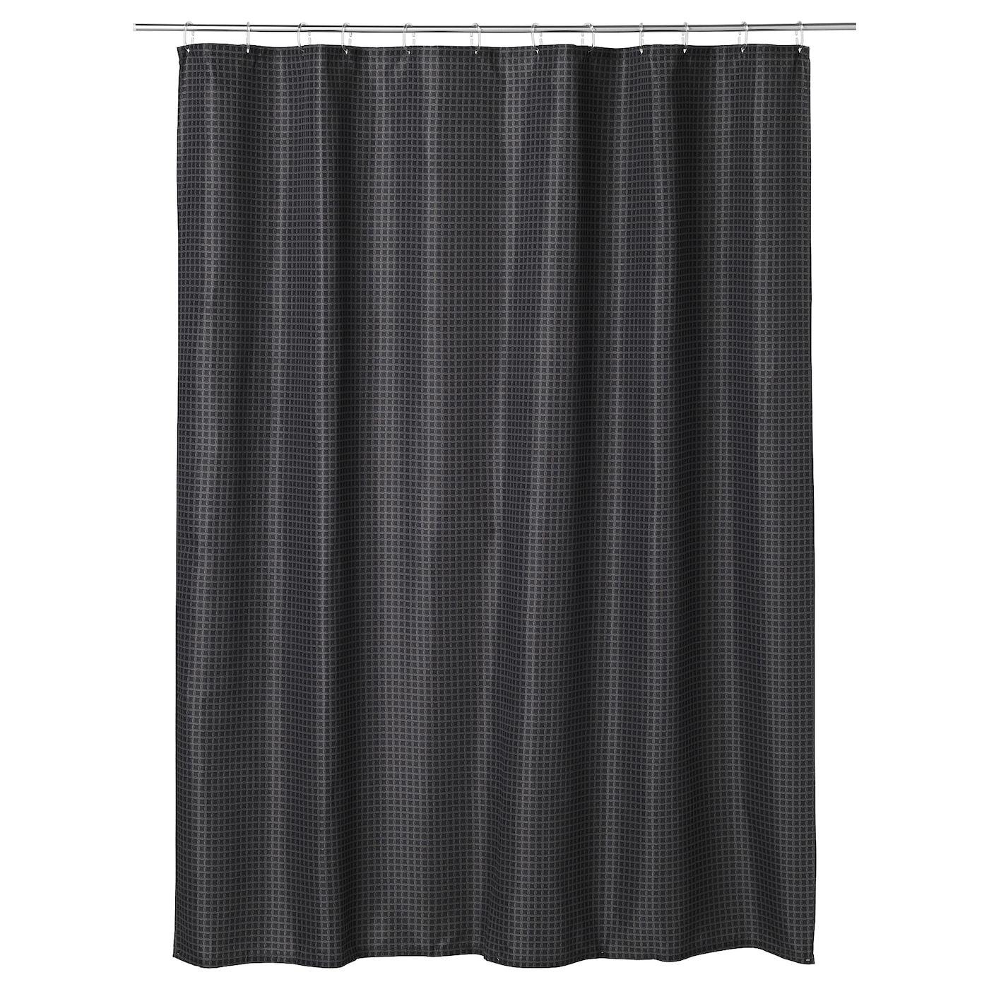 Saxalven Rideau De Douche In 2020 Shower Curtain Rings Curtains