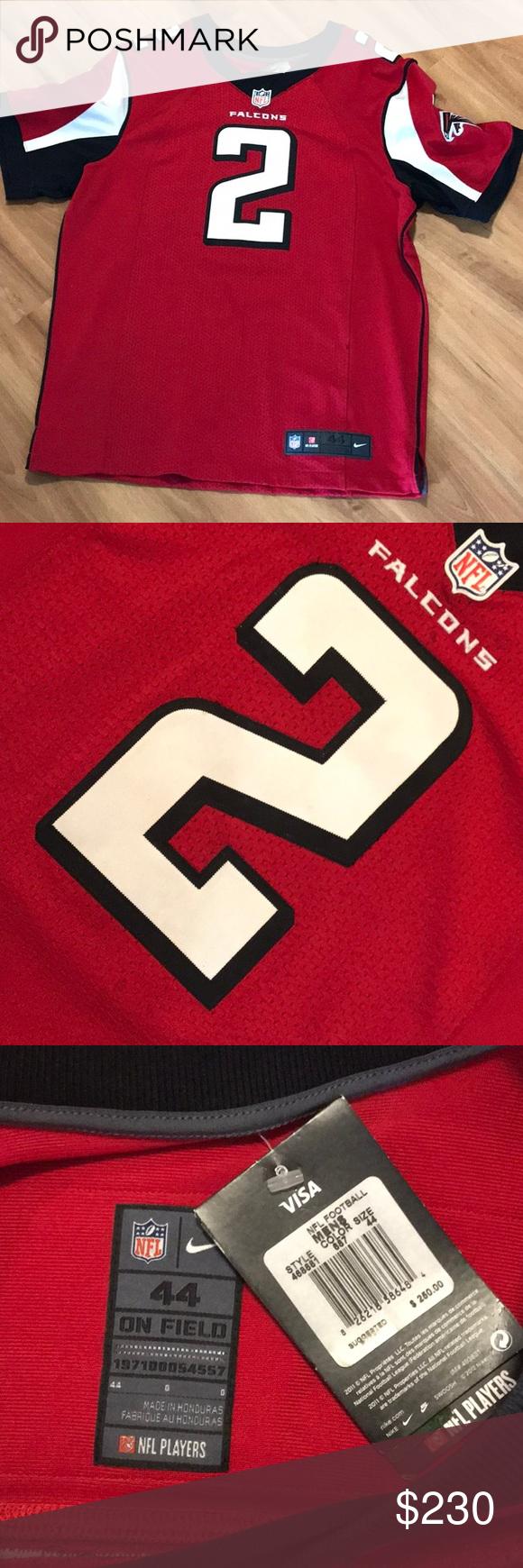 huge discount 533de 8503d Atlanta Falcons Jersey Matt Ryan Authentic Tackle twill Nike ...