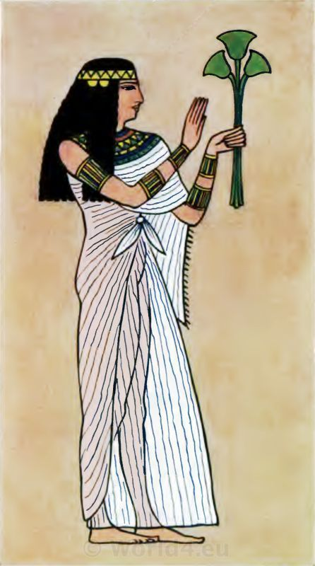 Ancient Egyptian costumes history. What did Egyptian ...
