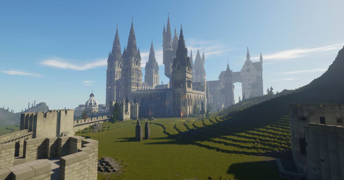Fans Are Creating A Harry Potter Role Playing Game Inside Minecraft Roleplaying Game Hogwarts Minecraft Minecraft