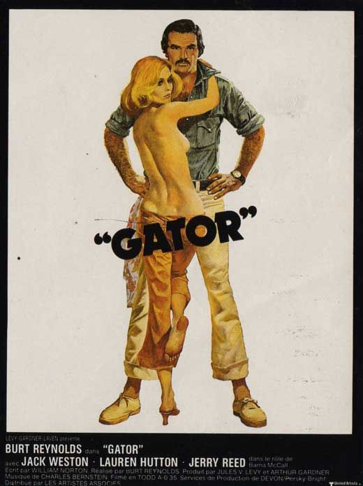 This is a brand new, reproduction print of a 1976 Gator French Style A poster. Description from ebay.com. I searched for this on bing.com/images