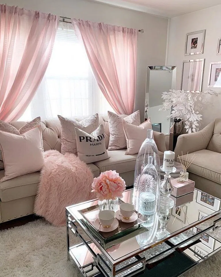 Romantic Living Room Ideas For Feminine Young Ladies Casa: Pin On Home Decor