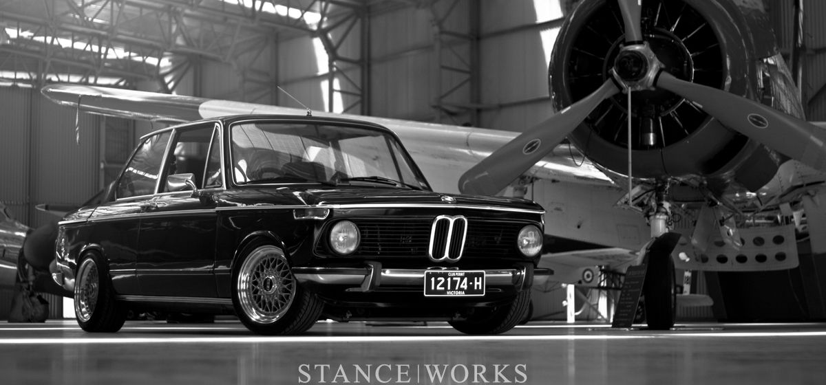 Beautiful Old Bmw 2002 On Bbs Rs Wheels With Some Great Photography