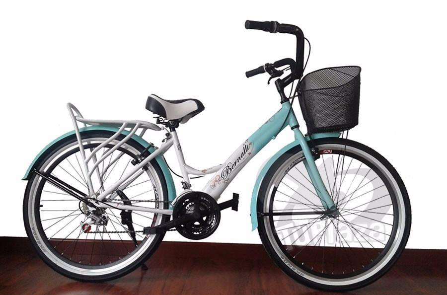 Bicicleta Playera Rin 26 Canasta, Parilla, Caballete Nueva! - $ 370.000 en MercadoLibre