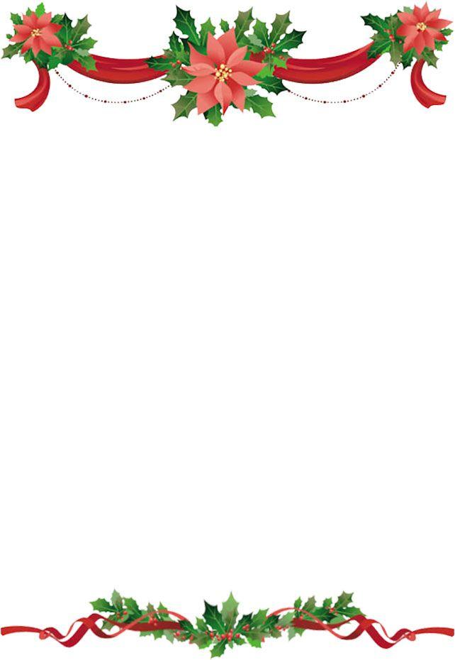 22++ Holiday ribbon border clipart info