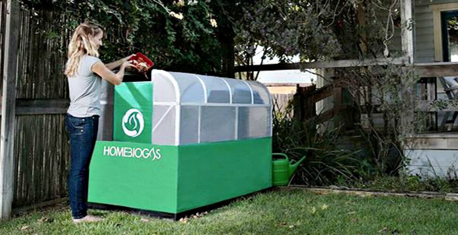 Home biogas unit lets you convert your own organic waste into ...
