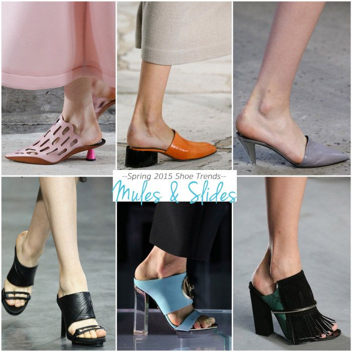 Shoes for Spring 2015