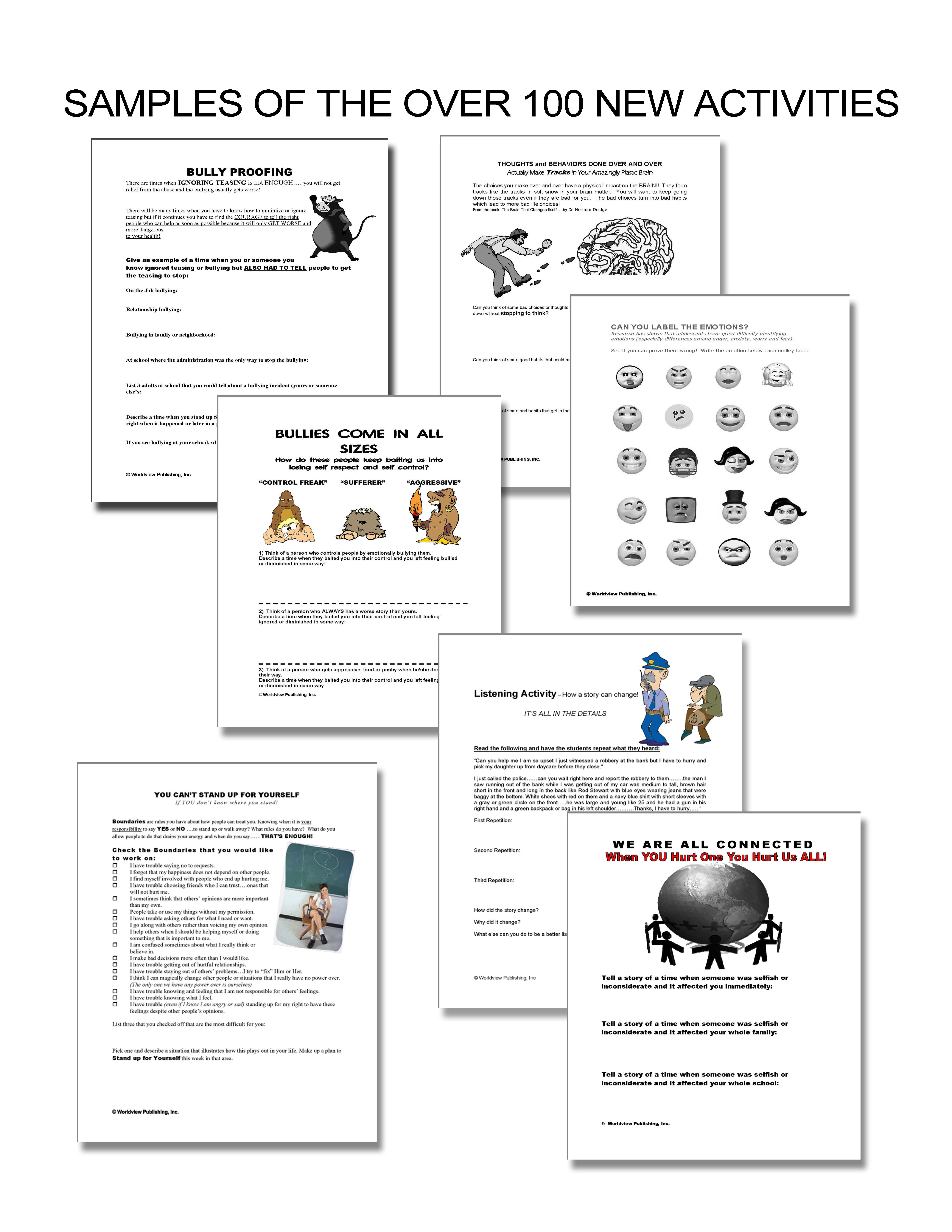 worksheet Anger Management Coping Skills Worksheets worldview publishing life skills video curriculum anger management social training character education conflict resolution and parenting