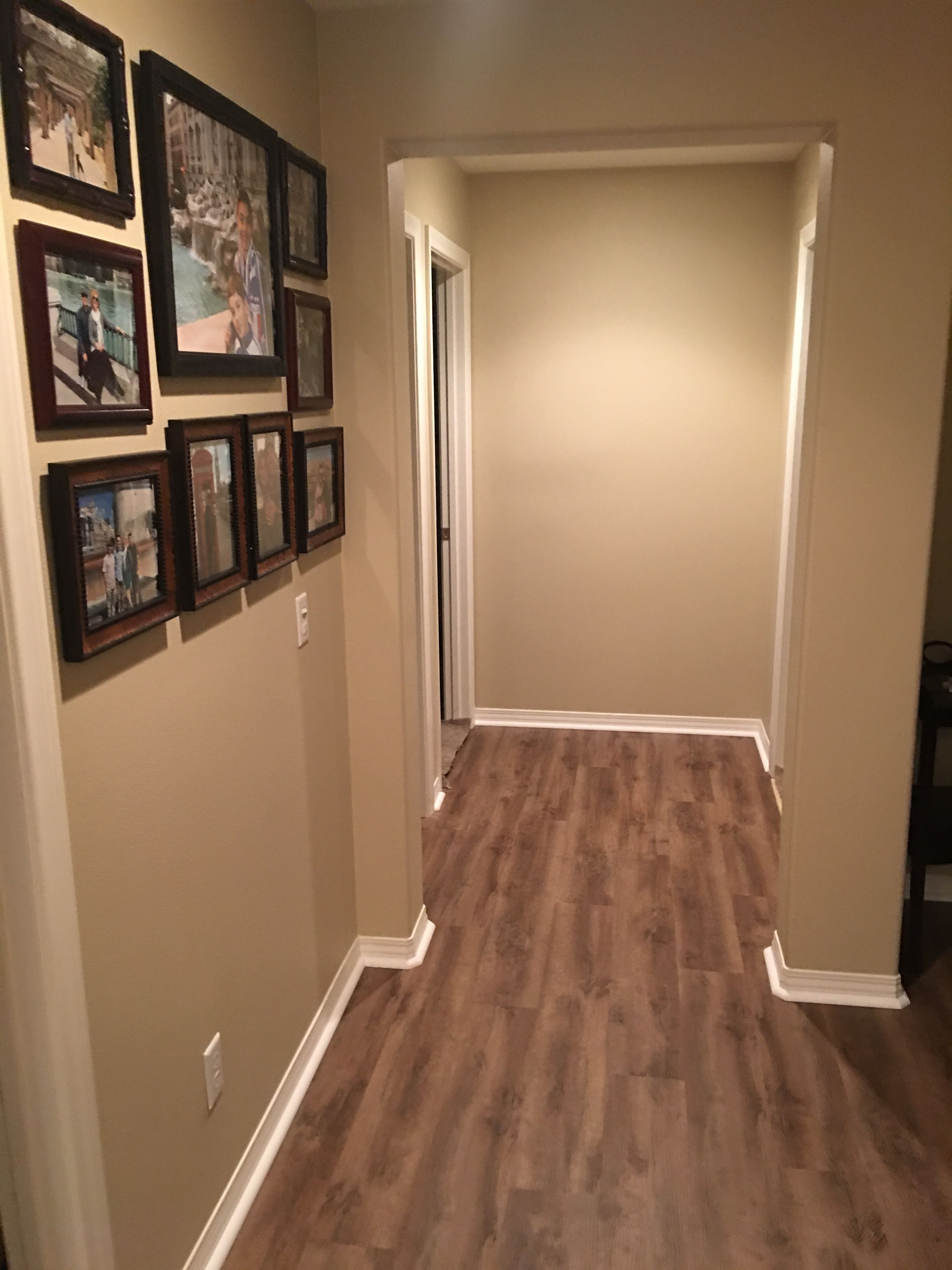 Luxury Vinyl Plank Flooring In The Upstairs Hallway Leading To Kids Bedrooms So Much Cleaner Bedroom Flooring Luxury Vinyl Plank Flooring Flooring