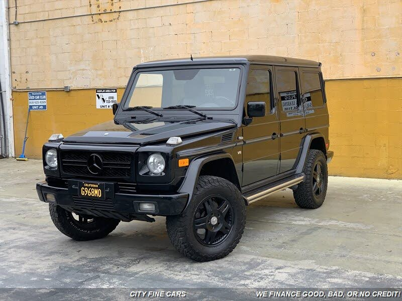 Used Mercedes Benz G Class For Sale With Photos Cargurus Em 2020