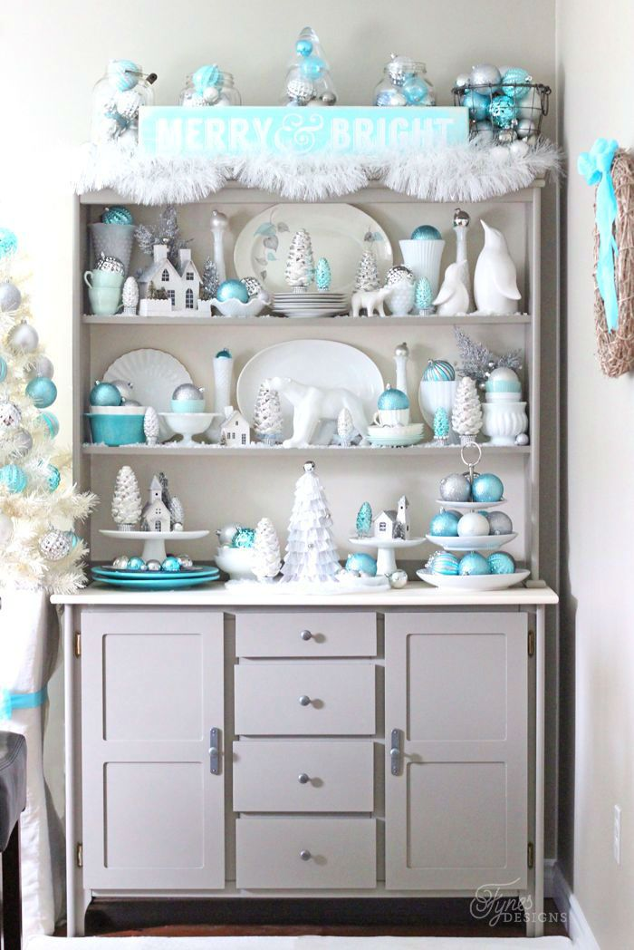 Top 40 Blue And White/ Blue And Silver Christmas Decoration Ideas