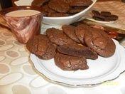 Шоколадное печенье, пошаговый рецепт шоколадного печенья с ...