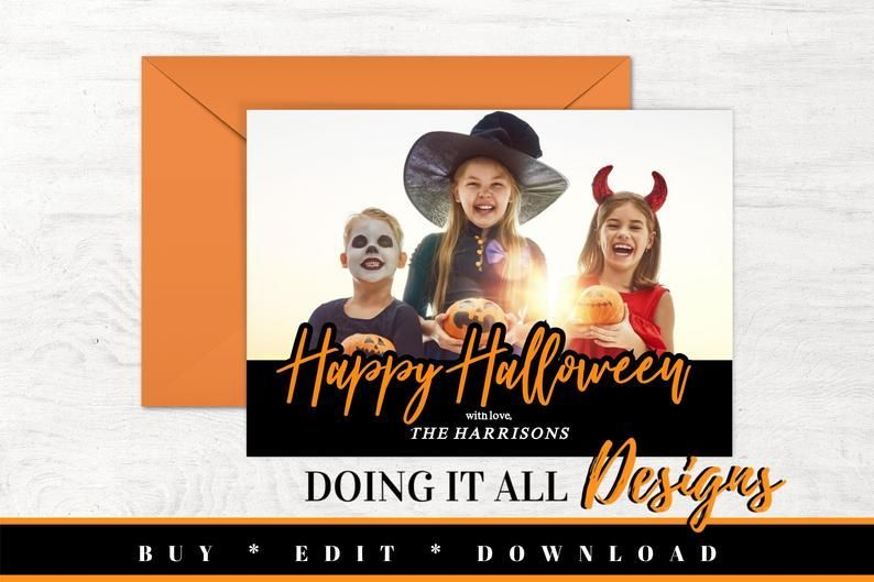This Item Is Unavailable Etsy Halloween Greeting Card Printable Photo Card Halloween Cards