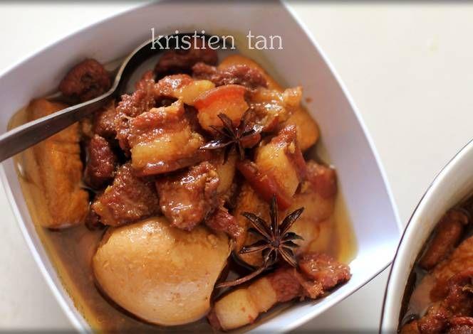 Resep Babi Kecap Mudah Simpel Enak Chinese Food Oleh Tintin Rayner Resep Resep Babi Resep Makanan Cina Memasak