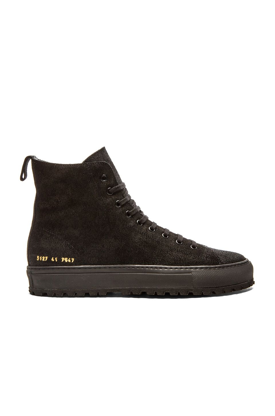 Common Projects Tournament High Lug in Black