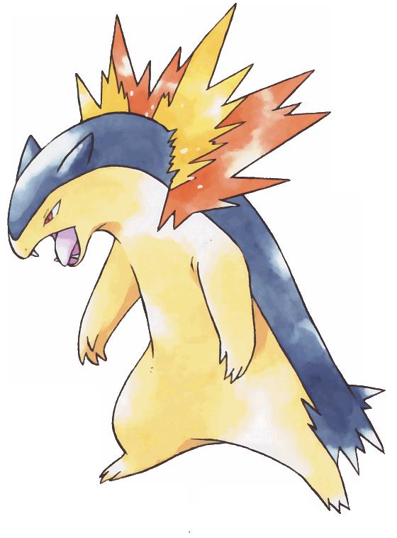 Typhlosion | Pokemon, Gold pokemon, Pokemon dungeon