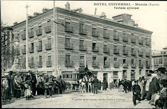 Hotel Universal, Murcia (España) Pinche para abrir herramienta de visualización