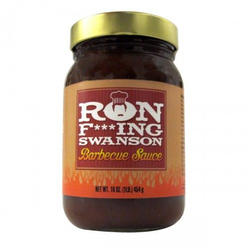 Parks and Recreation Ron F***ing Swanson BBQ Sauce