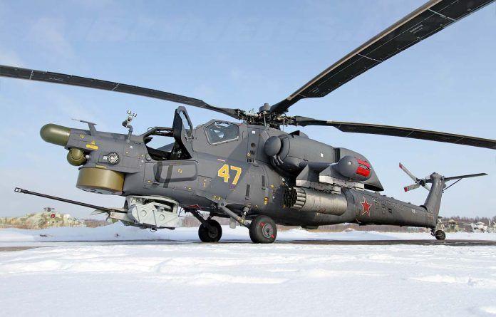 8 Mi-28N Cazador de la noche