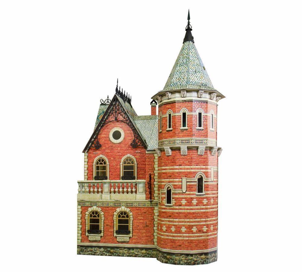 Victorian miniature houses - Victorian Doll House 3 Diy Dollhouse Miniature Scale 1 12 Model Kit