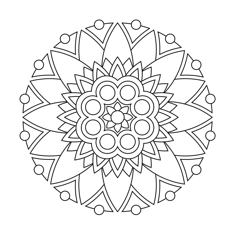 Flower Mandala Coloring Pages Mandala Coloring Mandala Coloring