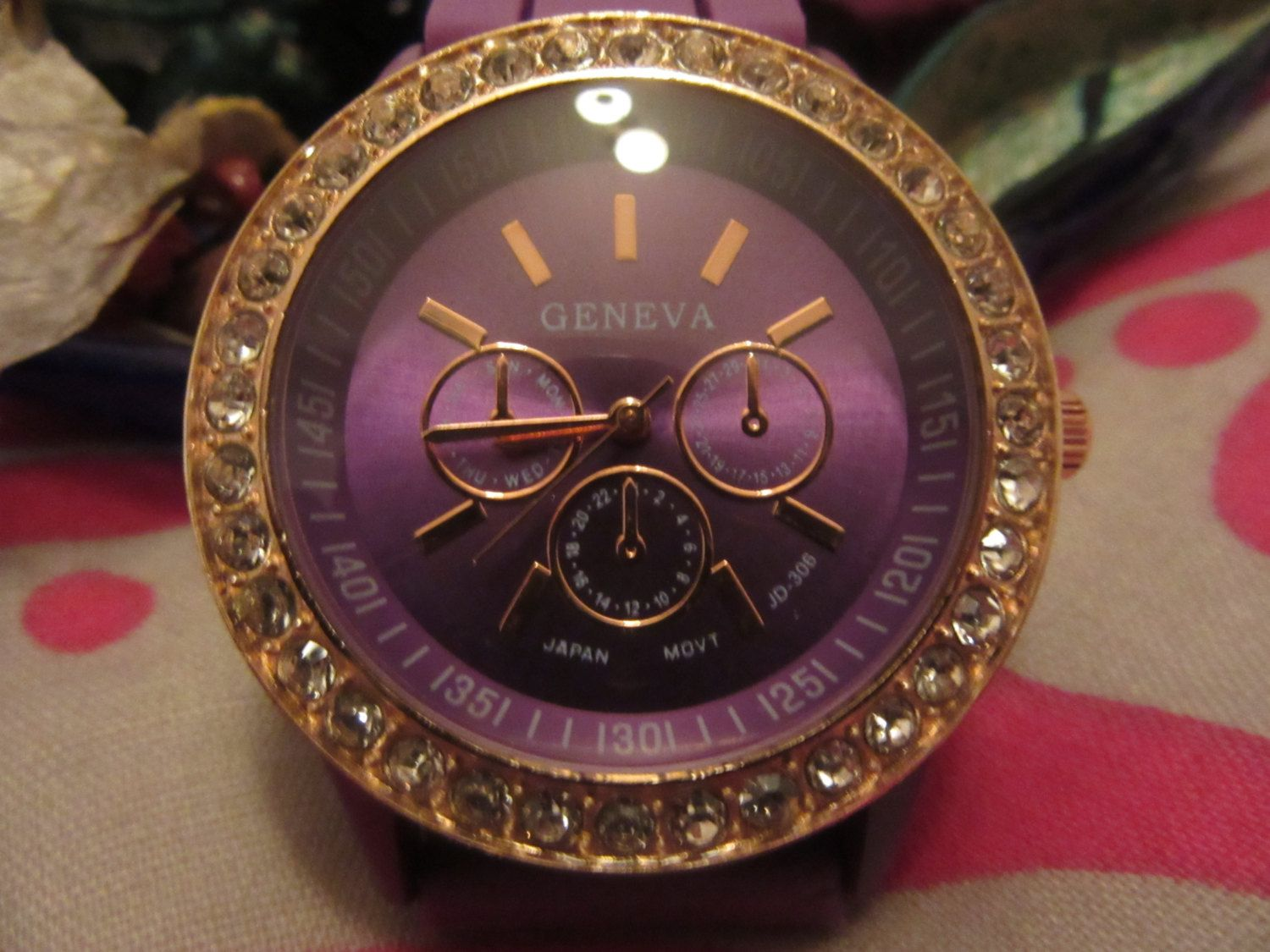 Purple watch de Victoriaprettyangels en Etsy
