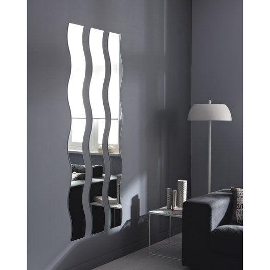 Miroir Non Lumineux Decoupe Vague L 20 X L 160 5 Cm Vague