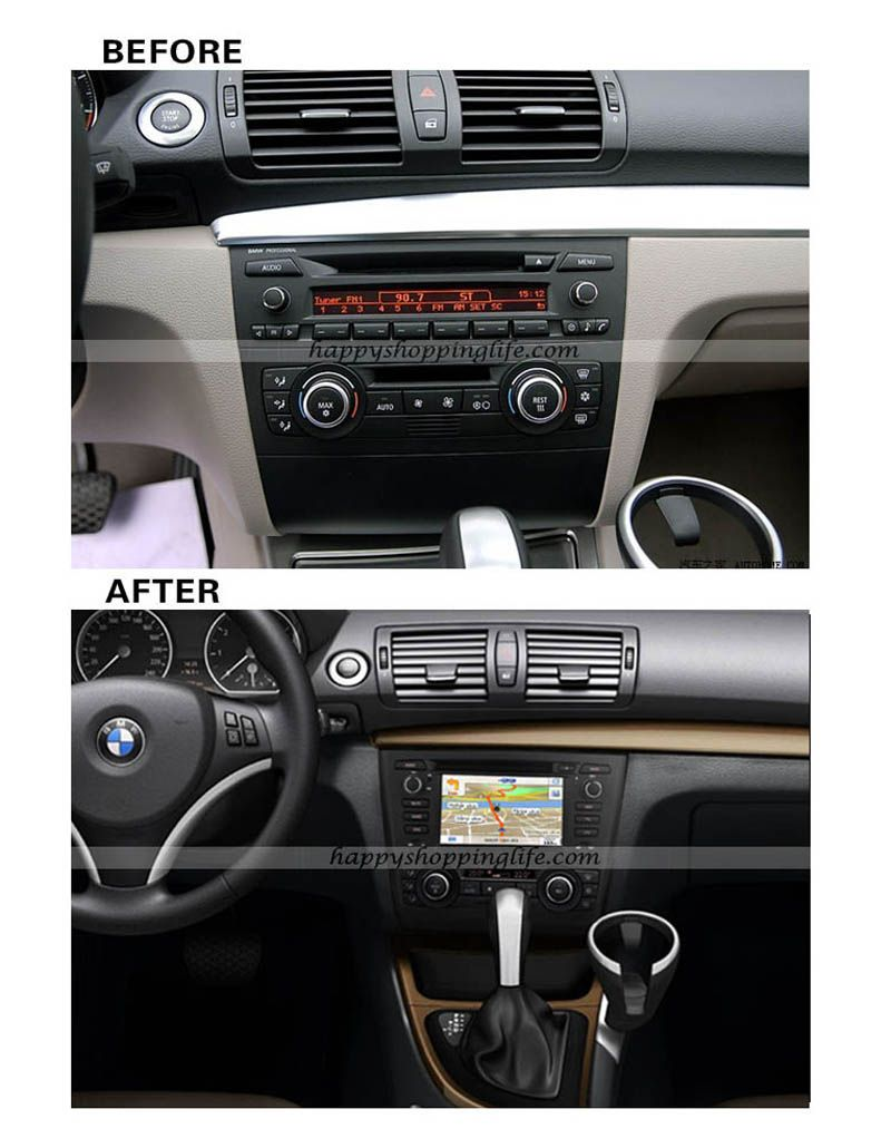 6 2 Inch One Din Standard Car Dvd Player Special Design For Bmw 1 Series E81