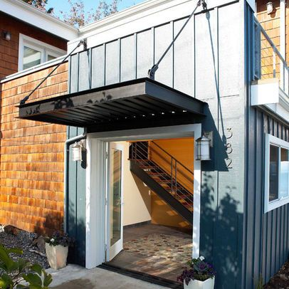 Modern Home Awning Design Ideas House Exterior Modern Exterior
