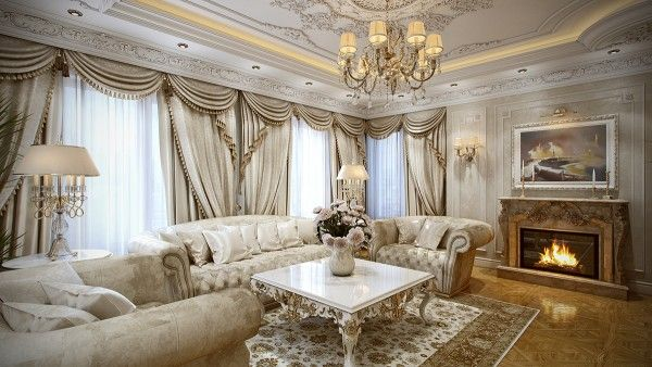 5 Luxurious Interiors Inspired By Louis Era French Design On